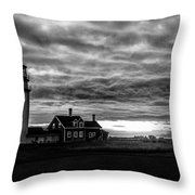 Lights In The Storm Throw Pillow