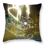 Lights That Attack Cars Throw Pillow
