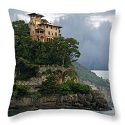 Liguria. Riviera Di Levante  Throw Pillow