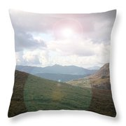 Lihgt In The Sky Throw Pillow