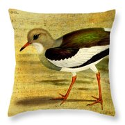 Like A Lapwing Throw Pillow