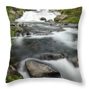 Like A River Full Of Song Throw Pillow