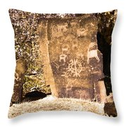 Like Ancient Graffiti  Throw Pillow