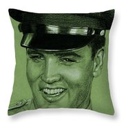 Like Any Other Soldier Throw Pillow