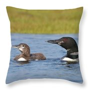 Like Father Like Child Throw Pillow