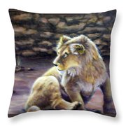 Like Son Throw Pillow