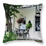 Lil Italy  Throw Pillow