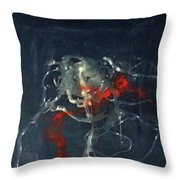Lil Monsters Throw Pillow