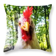 lil' Ricki Throw Pillow