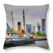 Lilac 354 Throw Pillow