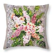 Lilac Bouquet II  Throw Pillow