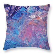 Lilac Grove Throw Pillow