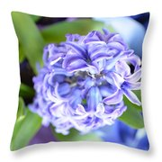 Lilac In Bloom Throw Pillow