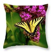 Lilac Landing Wall Art Throw Pillow