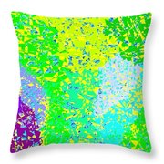 Lilac Lane Throw Pillow