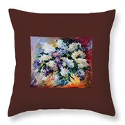 Lilac New Throw Pillow