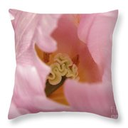 Lilac Charm Throw Pillow