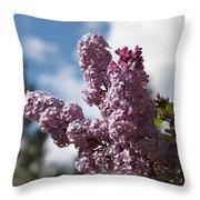 Lilacs 5547 Throw Pillow
