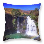 Lili Waterfall  Throw Pillow