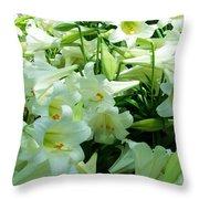 Lilies 11 Throw Pillow