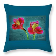 Lilies 18-10 Throw Pillow