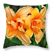 Lilies Collection - 1 Throw Pillow