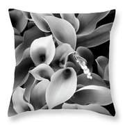 Lilies Of The Vallley Throw Pillow