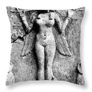 Lilith, C1950 B.c Throw Pillow