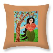 Lilith II Throw Pillow