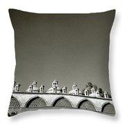 Lilliputian Minarets Throw Pillow