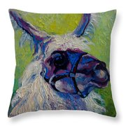 Lilloet - Llama Throw Pillow