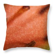 Lilly Stamens Throw Pillow