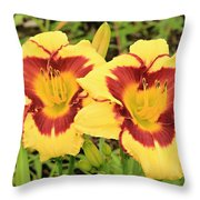 Lilly1 Throw Pillow