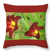 Lilly2 Throw Pillow