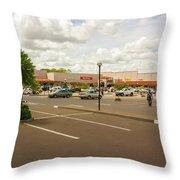 Lilongwe City Mall Throw Pillow