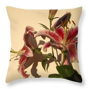 Lily-1 Throw Pillow