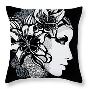 Lily Bella Throw Pillow
