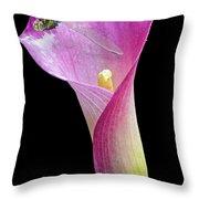 Lily Dragon 3 Throw Pillow