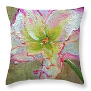 Lily From Paradise Throw Pillow