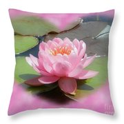 Lily Hearted Throw Pillow