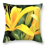 Lily - Id 16217-152018-5631 Throw Pillow