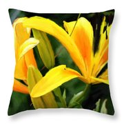 Lily - Id 16217-152041-9998 Throw Pillow