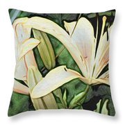 Lily - Id 16217-152054-3169 Throw Pillow