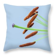 Lily Macro 1 Throw Pillow