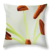Lily Macro 2 Throw Pillow