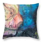 Lily Of The West Throw Pillow