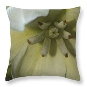 Lily Poster Throw Pillow