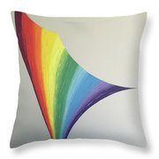 Lily Prism #8 Throw Pillow