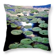 Lily Stairway Throw Pillow