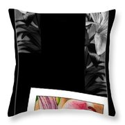 Lily Wall Decor Throw Pillow
